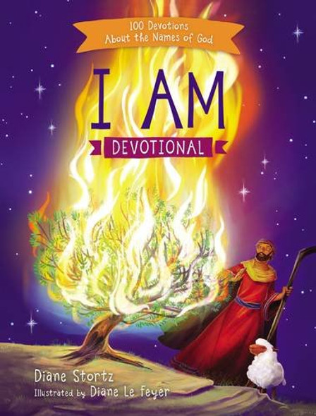 I Am Devotional: 100 Devotions about the Names of God Cover
