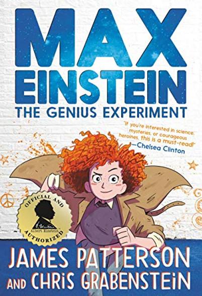 Max Einstein: The Genius Experiment (Max Einstein #1) Cover