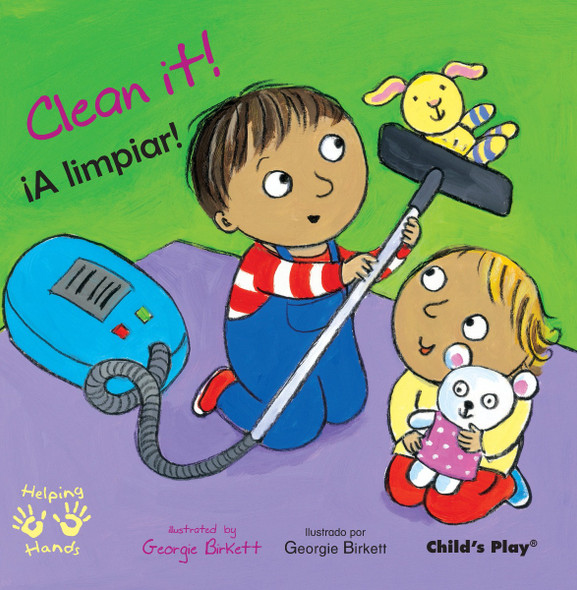 Clean It!/A Limpiar! (Helping Hands (Bilingual)) Cover