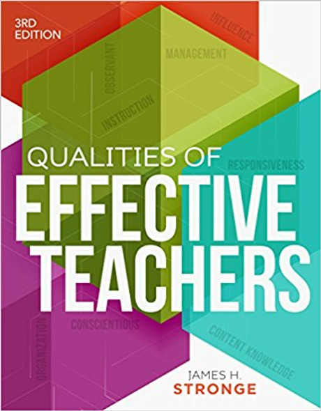 Qualities of Effective Teachers, 3rd Edition Cover