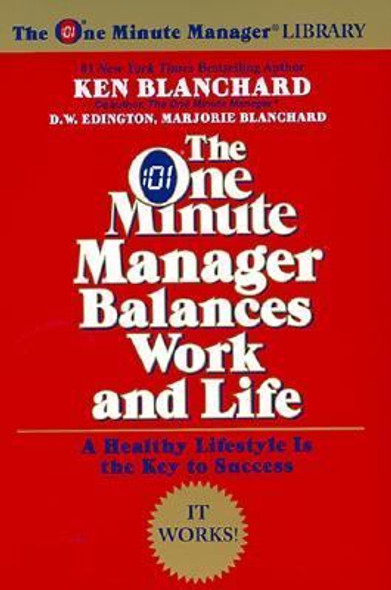 The One Minute Manager Balances Work and Life Cover