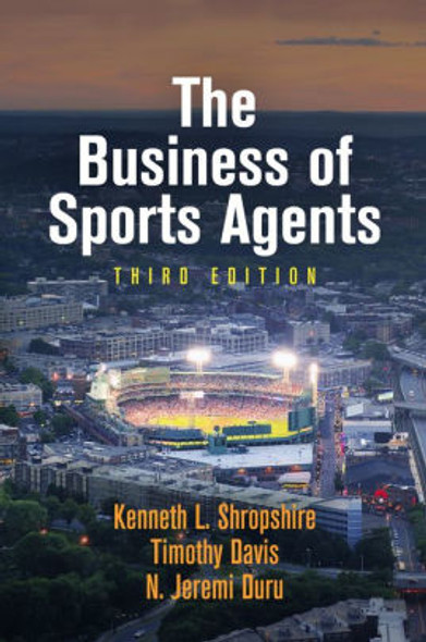 The Business of Sports Agents Cover