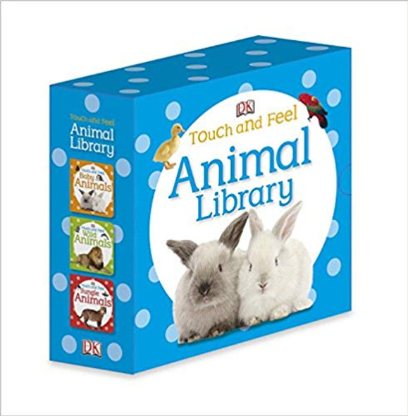 Touch and Feel: Animal Library ( Touch & Feel ) Cover