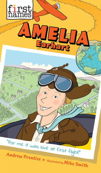 Amelia Earhart (the First Names Series) Cover