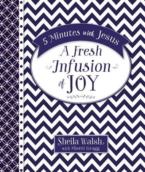 5 Minutes with Jesus: A Fresh Infusion of Joy Cover