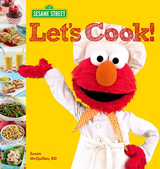 Sesame Street Let's Cook! Cover