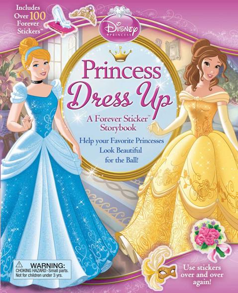 Disney Princess: Princess Dress Up: A Forever Sticker Storybook Cover