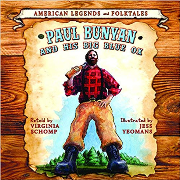 Paul Bunyan and the Big Blue Ox Cover