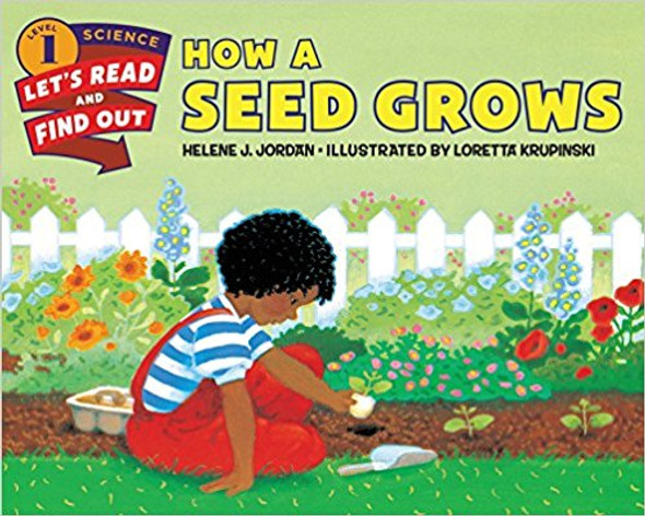 How a Seed Grows (Let's-Read-and-Find-Out Science 1) Cover