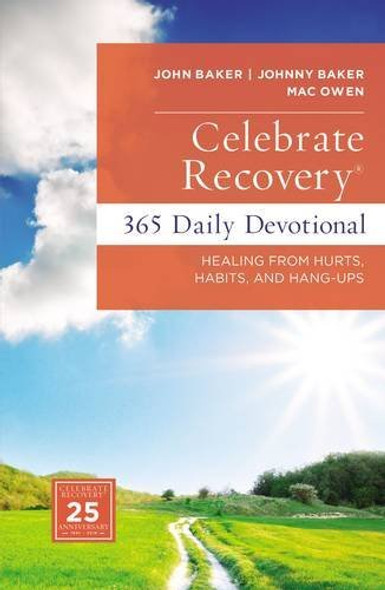 Celebrate Recovery Daily Devotional: 366 Devotionals Cover
