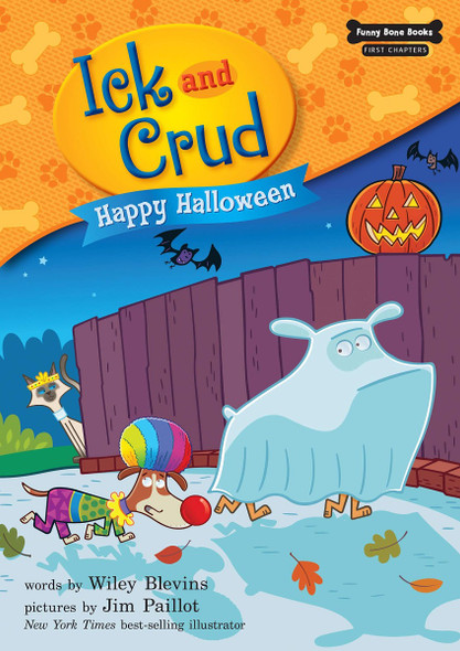 Happy Halloween (Ick and Crud: Funny Bone Books; First Chapters) Cover