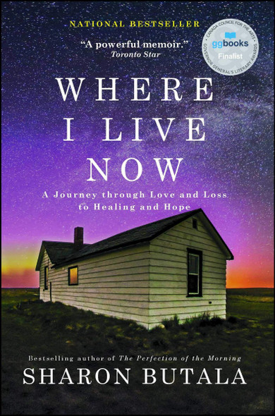 Where I Live Now: A Journey Through Love and Loss to Healing and Hope Cover