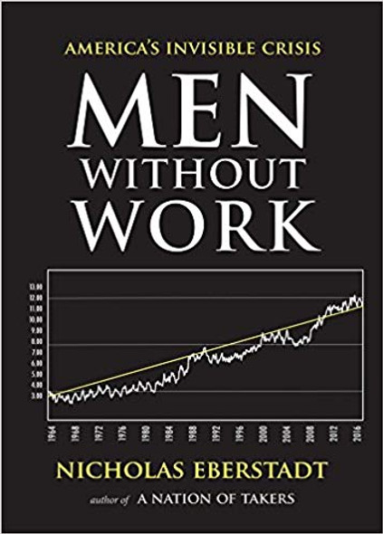 Men Without Work: America's Invisible Crisis (New Threats to Freedom) Cover
