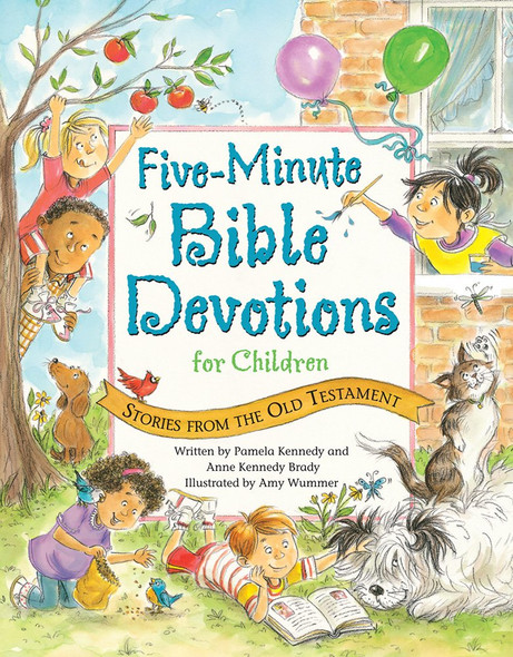 Five-Minute Bible Devotions for Children: Stories from the Old Testament Cover