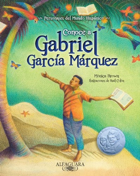 Conoce a Gabriel Garc'_a M'rquez (Spanish Edition) (Personajes Del Mundo Hisp'nico / Characters of the Hispanic World) Cover