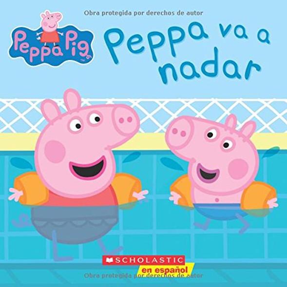 Peppa va a nadar (Peppa Pig) (Spanish Edition) Cover