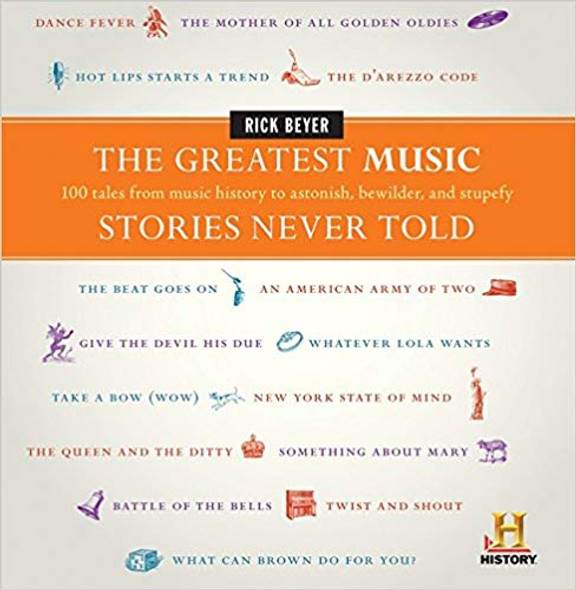 The Greatest Music Stories Never Told: 100 Tales from Music History to Astonish, Bewilder, and Stupefy (Greatest Stories Never Told) Cover