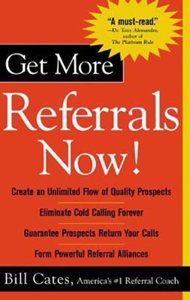Get More Referrals Now! Cover