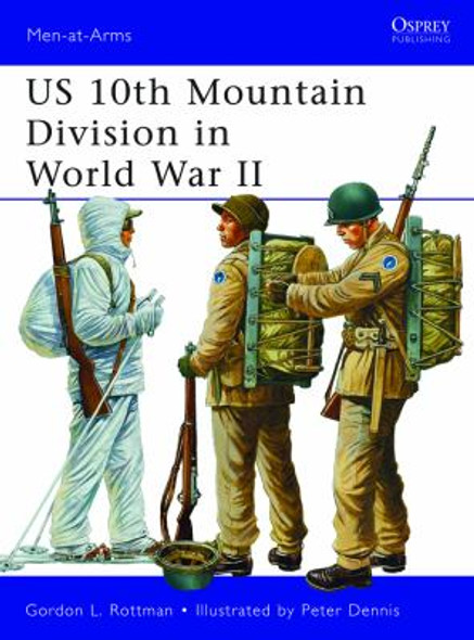 US 10th Mountain Division in World War II Cover