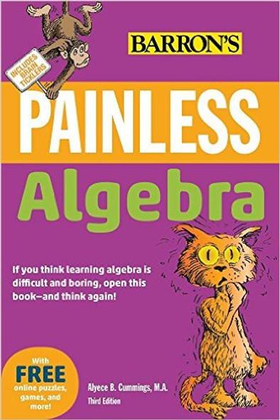 Painless Algebra (Barron's Painless) Cover