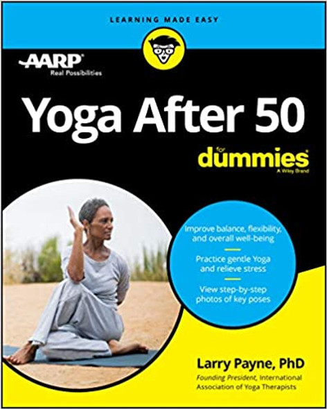 Yoga After 50 for Dummies (1ST ed.) Cover
