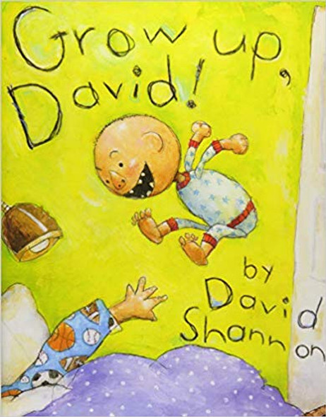 Grow Up, David! ( David Books ) Cover