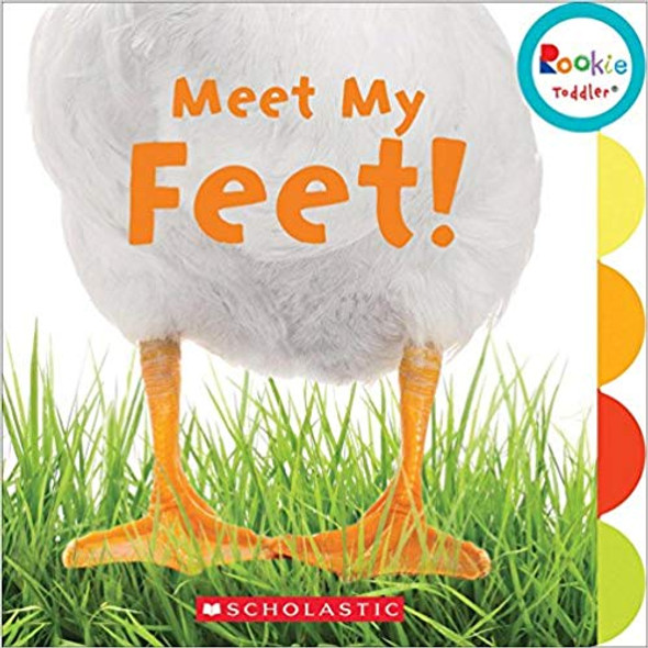 Meet My Feet ( Rookie Toddler ) Cover