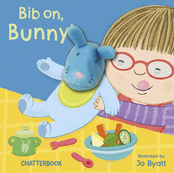 Bib On, Bunny! (Chatterboox) Cover