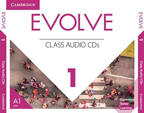 Evolve Level 1 Class Audio CDs Cover
