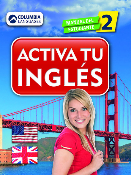 Activa tu ingles II (English and Spanish Edition) Cover