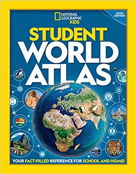 National Geographic Student World Atlas, 5th Edition Cover