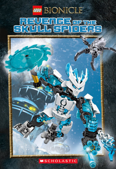 Revenge of the Skull Spiders ( Lego Bionicle #02 ) Cover