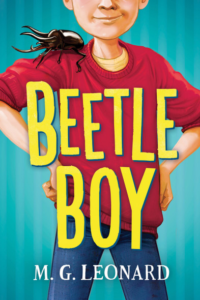 Beetle Boy Cover