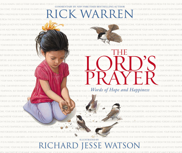 The Lord's Prayer: Words of Hope and Happiness Cover