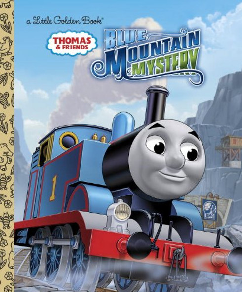 Blue Mountain Mystery (Thomas and Friends) (Little Golden Book) Cover