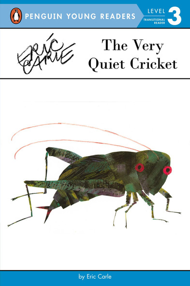 The Very Quiet Cricket (Penguin Young Readers, Level 3) Cover