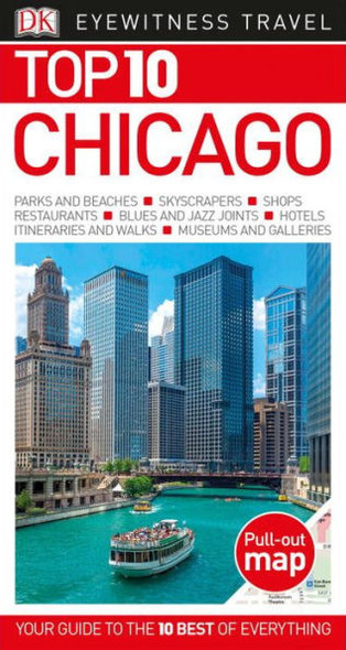 Top 10 Chicago (Eyewitness Top 10 Travel Guide) Cover