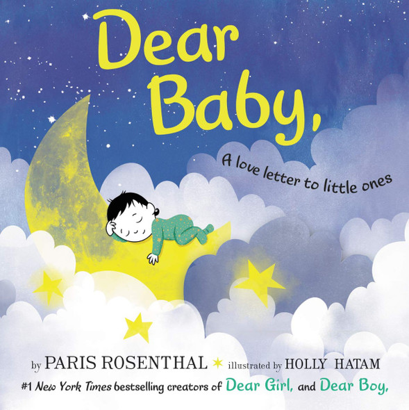 Dear Baby,: A Love Letter to Little Ones Cover