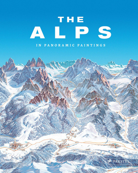The Alps: In Panoramic Paintings Cover