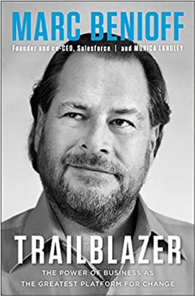 Trailblazer: The Power of Business as the Greatest Platform for Change Cover
