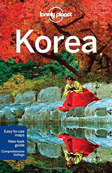 Lonely Planet Korea Cover