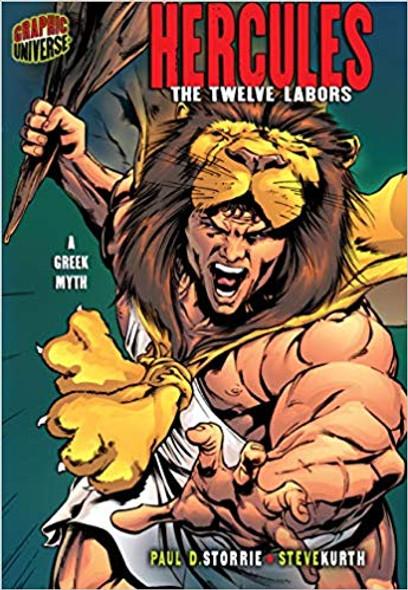 Hercules: The Twelve Labors (Graphic Myths & Legends) Cover