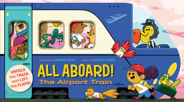 All Aboard! the Airport Train Cover