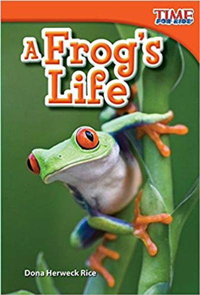 A Frog's Life (Upper Emergent) Cover