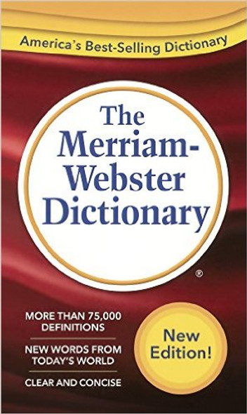 The Merriam-Webster Dictionary (Turtleback School & Library Binding Edition) Cover