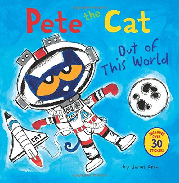 Pete the Cat: Out of This World Cover