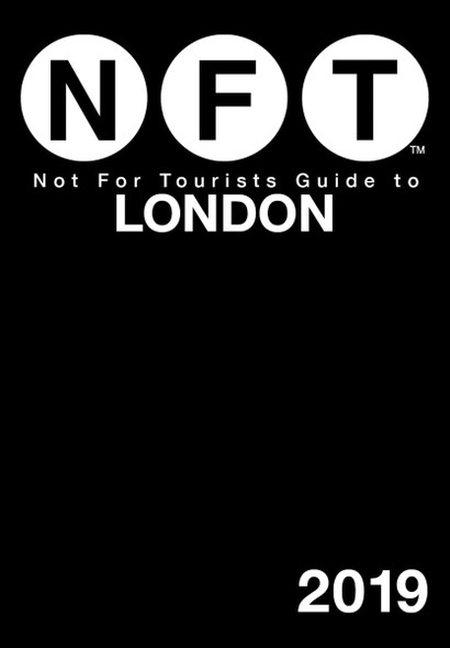 Not for Tourists Guide to London 2019 Cover