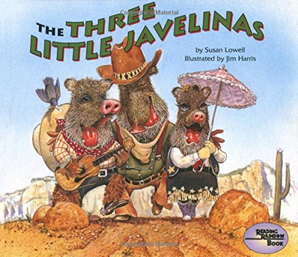 The Three Little Javelinas (Reading Rainbow Books) Cover