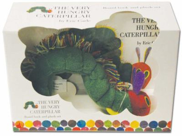 The Very Hungry Caterpillar: Board Book and Plush Set Cover