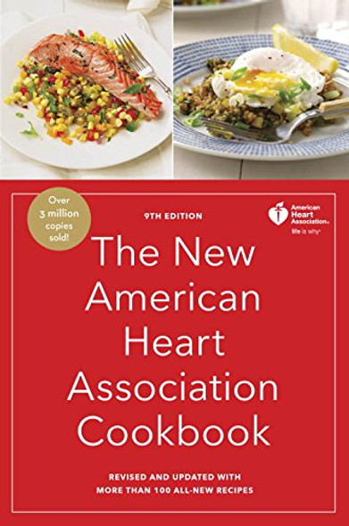 The New American Heart Association Cookbook, 9th Edition: Revised and Updated with More Than 100 All-New Recipes Cover
